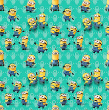 DESPICABLE ME MINIONS WRAPPING PAPER ROLL GIFT WRAP ANY OCCASION 12.5 SQ. FEET