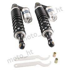 Motorcycle 340mm Rear Shocks Suspension Adjustable for Yamaha VMAX Honda CB 500