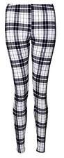 Mujer Elástico Larga Estampado Mallas Talla Grande tobillo Pantalones