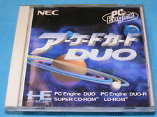 PC Engine ARCADE CARD DUO for SUPER CD ROM / DUO-R / DUO