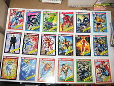 1990,1991,1992,1993,1994 MARVEL UNIVERSE COMPLETE SETS!! ALL 5 ORIGINALS! + FREE
