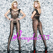 Fishnet Body Stocking Netz Body Catsuit Reizwäsche Gr.S-XL WY205