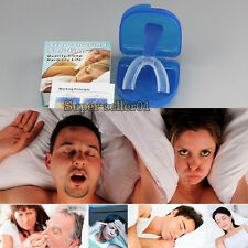 1Pcs Moldable Stop Snoring Mouthpiece Anti Snore Apnea Cure No Snore Help Sleep