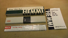 Hemmi No.80K Slide Rule, Cased, Boxed, Instructions, Good Condition.