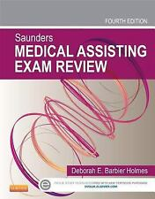 NEW Saunders Medical Assisting Exam Review by Deborah E. Holmes Paperback Book