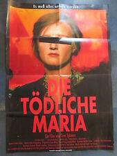 DIE TÖDLICHE MARIA - Filmplakat A1 - Tom Tykwer - Nina Petri