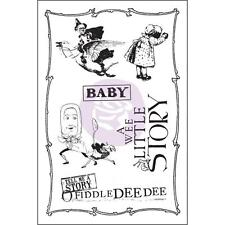 Prima Flowers BEDTIME STORY Cling Stamp Set 579104