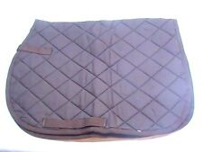 JTI brown square Granada saddle pad horse tack equine