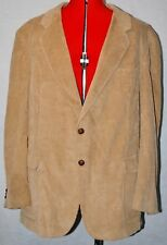 EASTWICK Corduroy Two Button Single Vent Sport Jacket / Blazer  ~ Size 48R