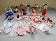 Lot Urusei Yatsura Gashapon figure set Ramu