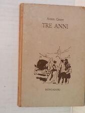 TRE ANNI Anton Cecov Leonardo Kociemski Mondadori 1960 libro romanzo narrativa