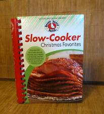 Gooseberry Patch Slow Cooker Christmas Favorites Recipe Cookbook