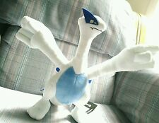 "Pokemon Center 11"" Ideal Plush Lugia by Nintendo *HTF* +Free Shipping! New!"