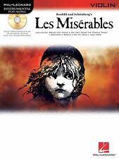Les Miserables Selections For Violin BK/online audioHal Leonard Instrumental Pl