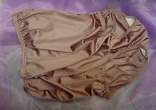 WOW~VANITY FAIR BROWN 15712/15812 PERFECTLY YOURS NYLON BRIEFS PANTIES~7/L~NW