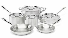 All-Clad 700362 MC2 Professional Master Chef 2 Stainless Steel Cookware Set NEW!