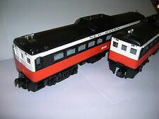 MTH New Haven Buddliner 2 piece non powered set new boxed 30-2231-3 lot # 8301