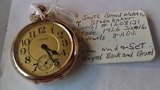 Antique South Bend - Size16 - 10K GF (Studebaker) - 21 Jewels - Pocket Watch