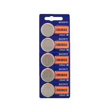 5pcs For Sony CR2032 CR 2032 3V Coin Batteries Button Cell Battery For Watch
