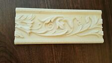 New Decorative Listello Composite Tile Border Feature Strip Flowering Vine Ivory