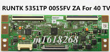 NEW SHARP RUNTK 5351TP 0055FV ZA T-Con Board Samsung UE40F5000AK For 40'' TV