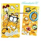 120Case Garfield ID Name Credit Business Card Wallet Book Holder Purse Bag Pouch