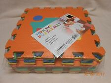 EVA PUZZLE MAT NEW 10 PACK TRAINS PLAY FOAM FLOOR DURABLE EASY CLEAN MAT EASTER