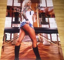 Lolly Ink Pulling Shorts Up Nice Butt Adult Film Signed 11x14 Photo COA Proof