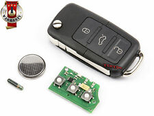 VW GOLF CADDY JETTA SCIROCCO EOS ALTEA 1K0959753G REMOTE CONTROL KEY 434Mhz 3 B