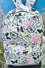 "disney minnie lotsHand-painted 15"" backpack shoulder bag laptop bags  Big AZ21 N"