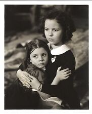 * YOUNG PEOPLE (1940) Beautiful Shot of Shirley Temple Comforting Diane Fisher