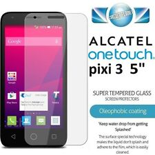 """100% Genuine Tempered Glass Film Screen Protector For Alactel Pixi 3 5.0"""" Model"""