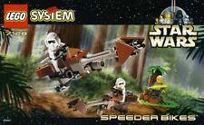 LEGO STAR WARS 'SPEEDER BIKES' 7128 ALL 3 UNIQUE FIGURES 100% COMPLETE GUARANTEE