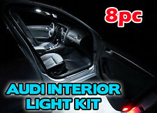 Audi A5 2007 onwards LED INTERIOR KIT - Xenon White Interior Lights Bulbs coupe