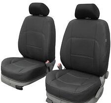 Vordersitzbezüge Kunstleder SCHWARZ Sitzbezüge passend für VW Caddy Volkswagagen