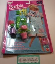 1993 Mattel Barbie German Import Fun To Play Gardening Outfit Clothes Set NEW