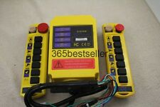2 Transmitters 8 Channels Hoist Crane Radio Remote Control System 110V