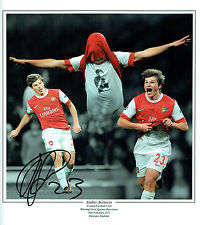 Andrey ARSHAVIN Signed Autograph HUGH Arsenal Montage Photo AFTAL COA