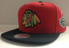 Chicago Blackhawks Mitchell & Ness Snapback Hat Cap 2010 NHL Stanley Cup Champs
