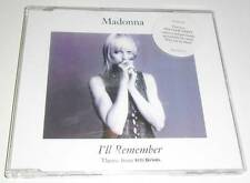 MADONNA - I'LL REMEMBER - RARE MIS-PRINT 1994 UK CD SINGLE MADE IN GERMANY