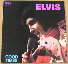 ELVIS PRESLEY - Good Times - Near MINT AUSTRALIAN VINYL LP
