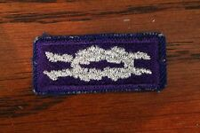 BSA YOUTH RELIGIOUS AWARD KNOT PATCH (Purple Silver) - BOY / CUB SCOUT - NEW