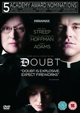 Doubt DVD Meryl Streep Philip Seymour Hoffman New and Sealed Original UK R2