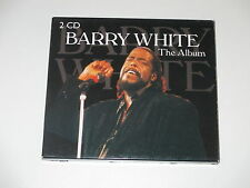 2 CD/THE ALBUM/BARRY WHITE/mcps 2223