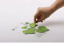 e. Novelty Cute leaves Shaped Office School Students Kids Gifts Sticky Notes 1PC