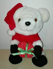 Peluche orso babbo natale 20 cm pupazzo originale plush soft toys idea regalo