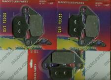 Kawasaki Disc Brake Pads GPZ750 1983-1988 Front & Rear (3 sets)