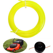 2.4mm x5m Yellow Nylon String Trimmer Line Rope For Most Petrol Strimmer Machine
