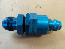 1 EA NOS ROCKWELL HALF QUICK DISCONNECT COUPLING T-37 AIRCRAFT P/N: 1309AS12A