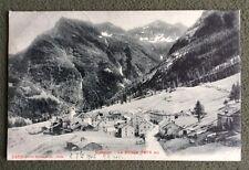 CPA. SIMPLON. Suisse. 1906. Le Village.